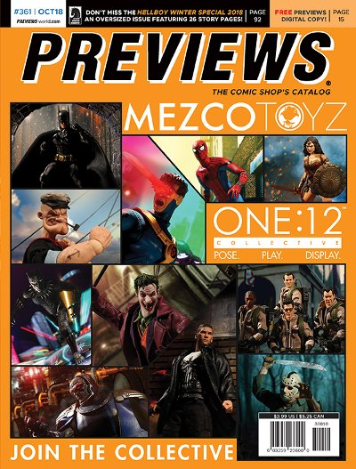 Back Cover -- Mezco Toyz's One:12 Collective