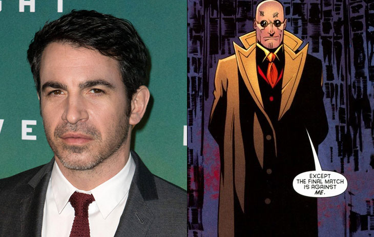 Image result for chris messina victor zsasz