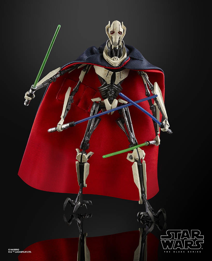 Star Wars Black Series General Grievous Action Figure 6 Inch In Stock!