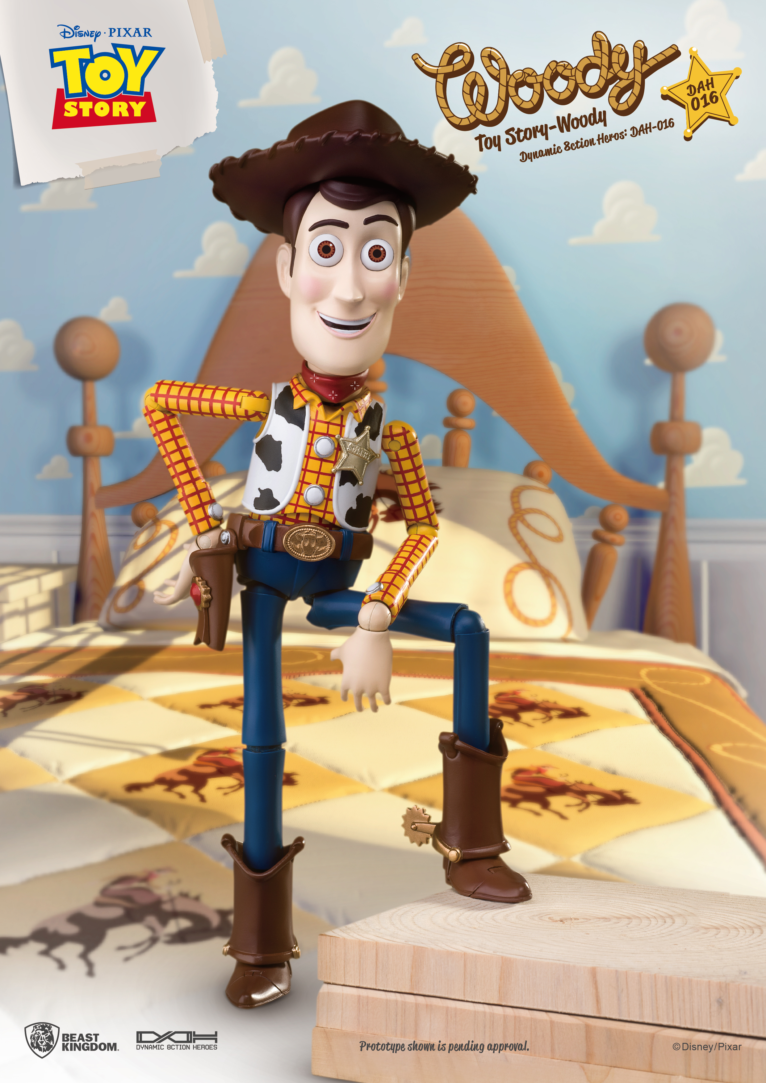 """PREVIEWS Exclusive """"Toy Story"""" Woody and Buzz Lightyear ..."""