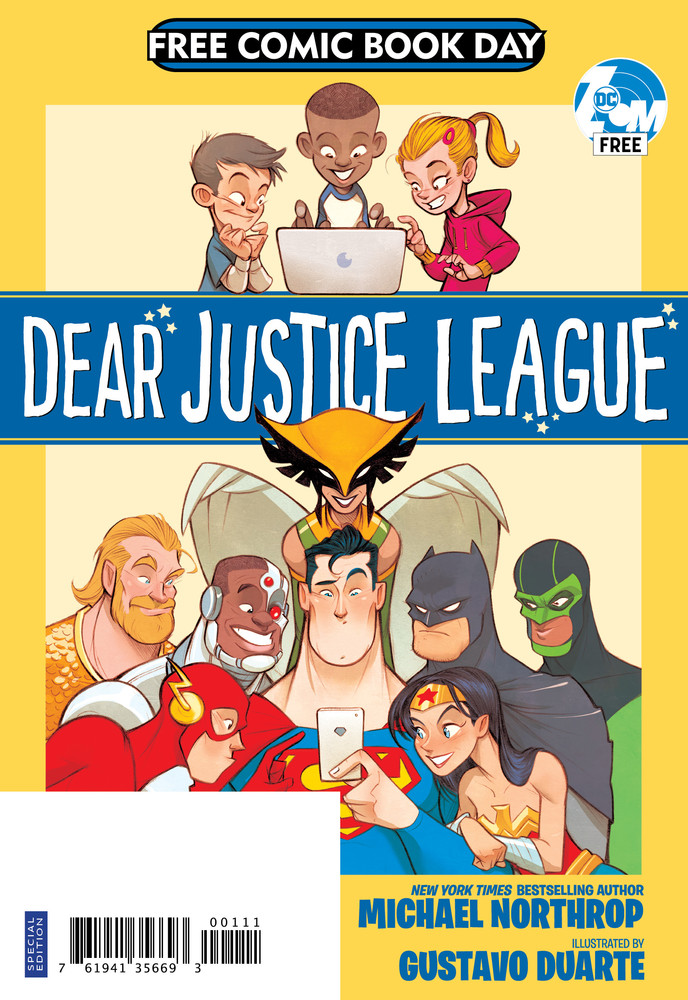 Free Comic Book Day, FCBD, DC Comics, Silver, Dear Justice League
