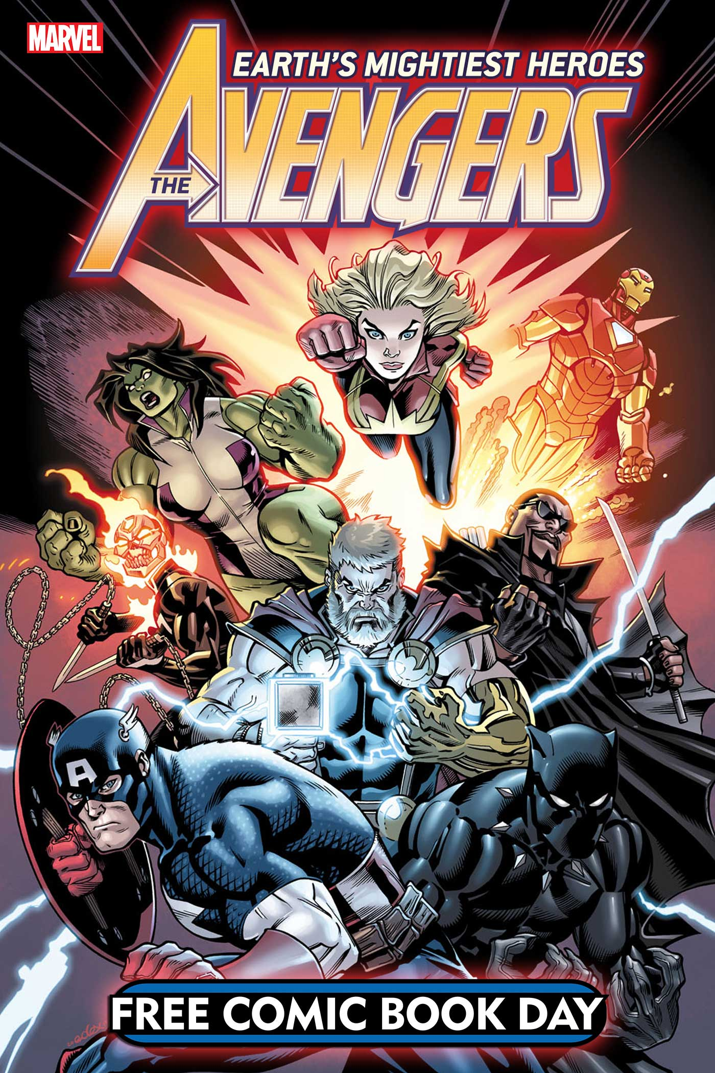 Free Comic Book Day, FCBD, Marvel, Avengers