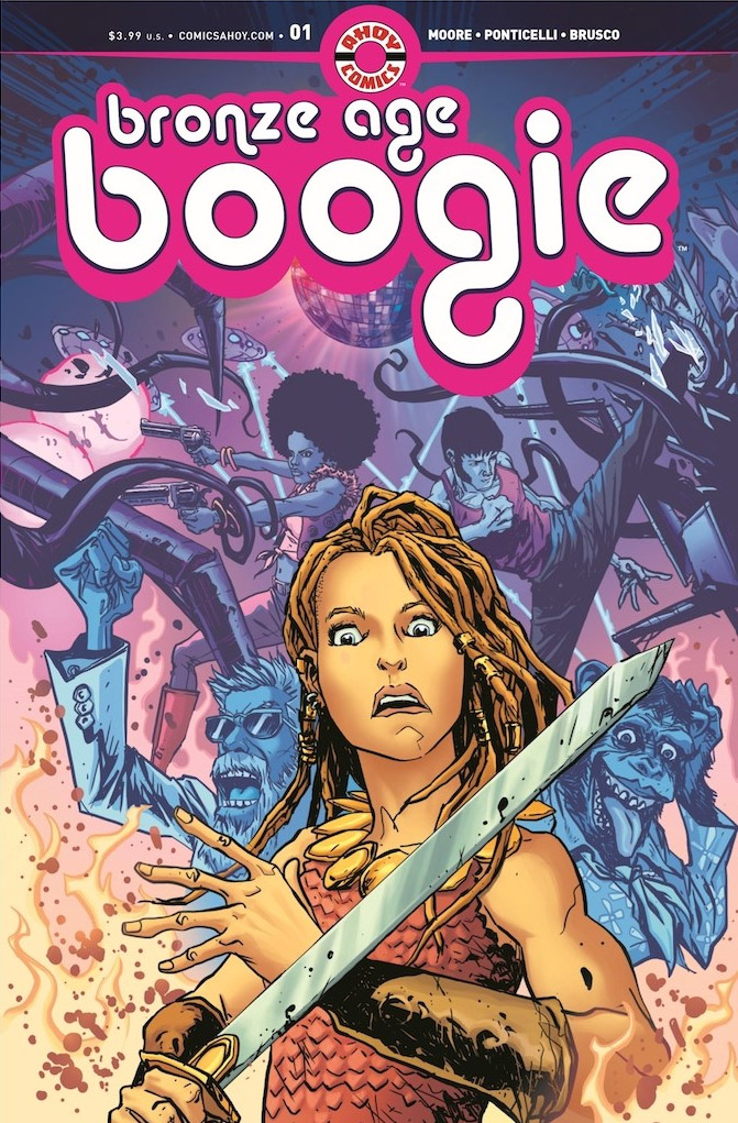 Cover to Bronze Age Boogie #1