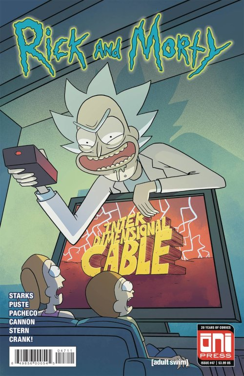 Oni Press -- Rick and Morty #47