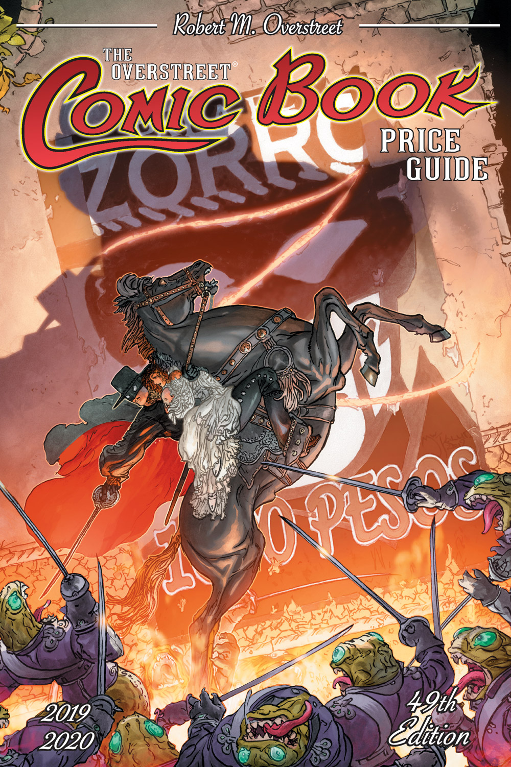 Kaluta Toasts Zorro's 100th on Overstreet Price Guide #49 - Previews