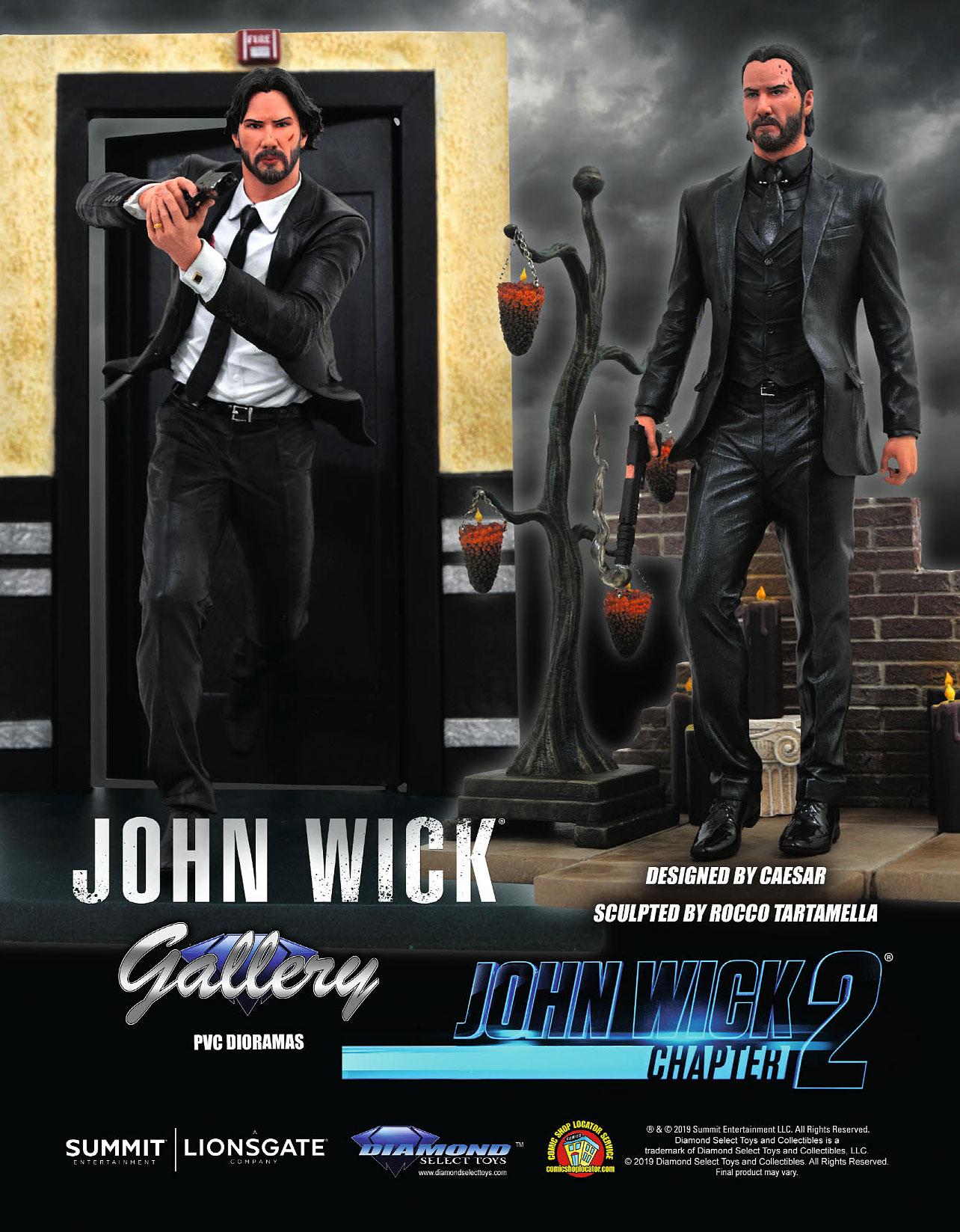 Keanu Reeves Vinimates John Wick Film JOHN WICK Vinyl Figure