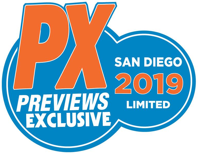 SDCC 2019 PREVIEWS Exclusives Announced - Previews World