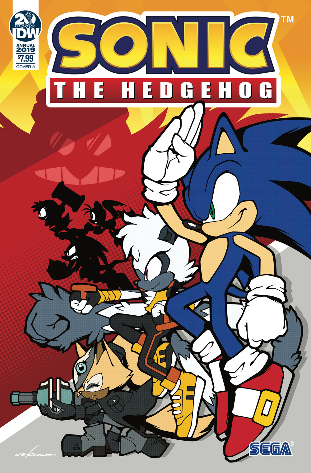 Sonic The Hedgehog Comics Build Momentum With Sold Out Annual And Ongoing Series Previews World
