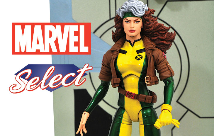 "Diamond Select Toys Marvel Select Rogue 7/"" Action Figure X-Men"