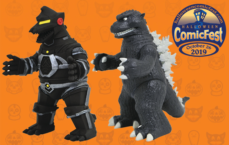 Godzilla 1954 Mechagodzilla Vinimate Figures Are Hcf