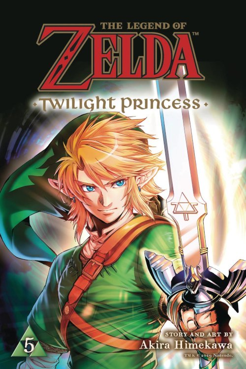 VIZ Media - The Legend of Zelda: Twilight Princess Volume 5