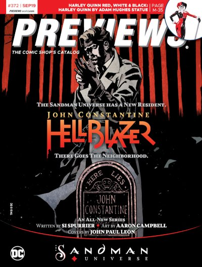 Front Cover -- DC Comics' John Constantine, Hellblazer #1