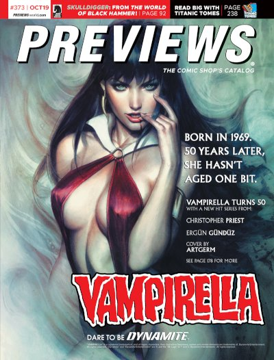 Front Cover -- Dynamite Entertainment's Vampirella #6