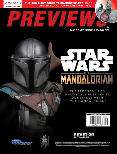 Diamond Select Toys -- Star Wars: The Mandalorian Bust