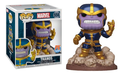 Funko -- POP! Marvel Heroes: Thanos Snap Deluxe Vinyl Figure