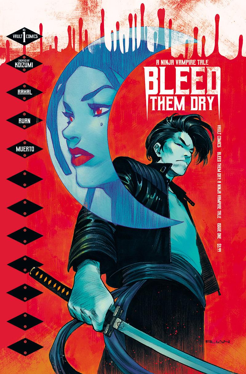 Vault Announces Bleed Them Dry: A Ninja Vampire Tale - Previews World
