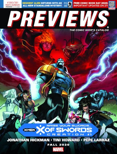 Marvel Comics -- X-Men: X of Swords: Creation #1