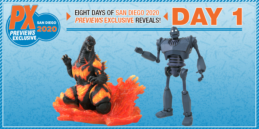 SDCC 2020 Previews Exclusive Iron Giant Deluxe Action Figure Box Set