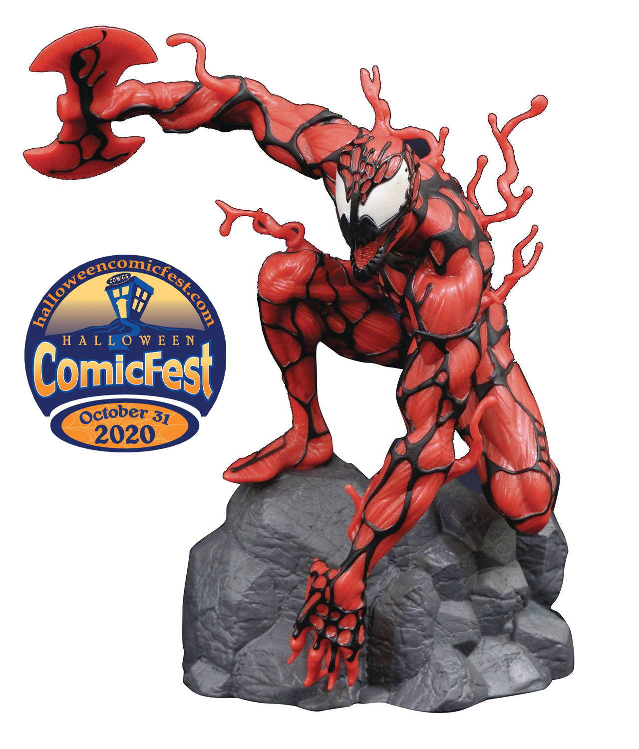 Halloween 2020 Carnage Carnage Glows with Terror for Halloween ComicFest 2020   Previews