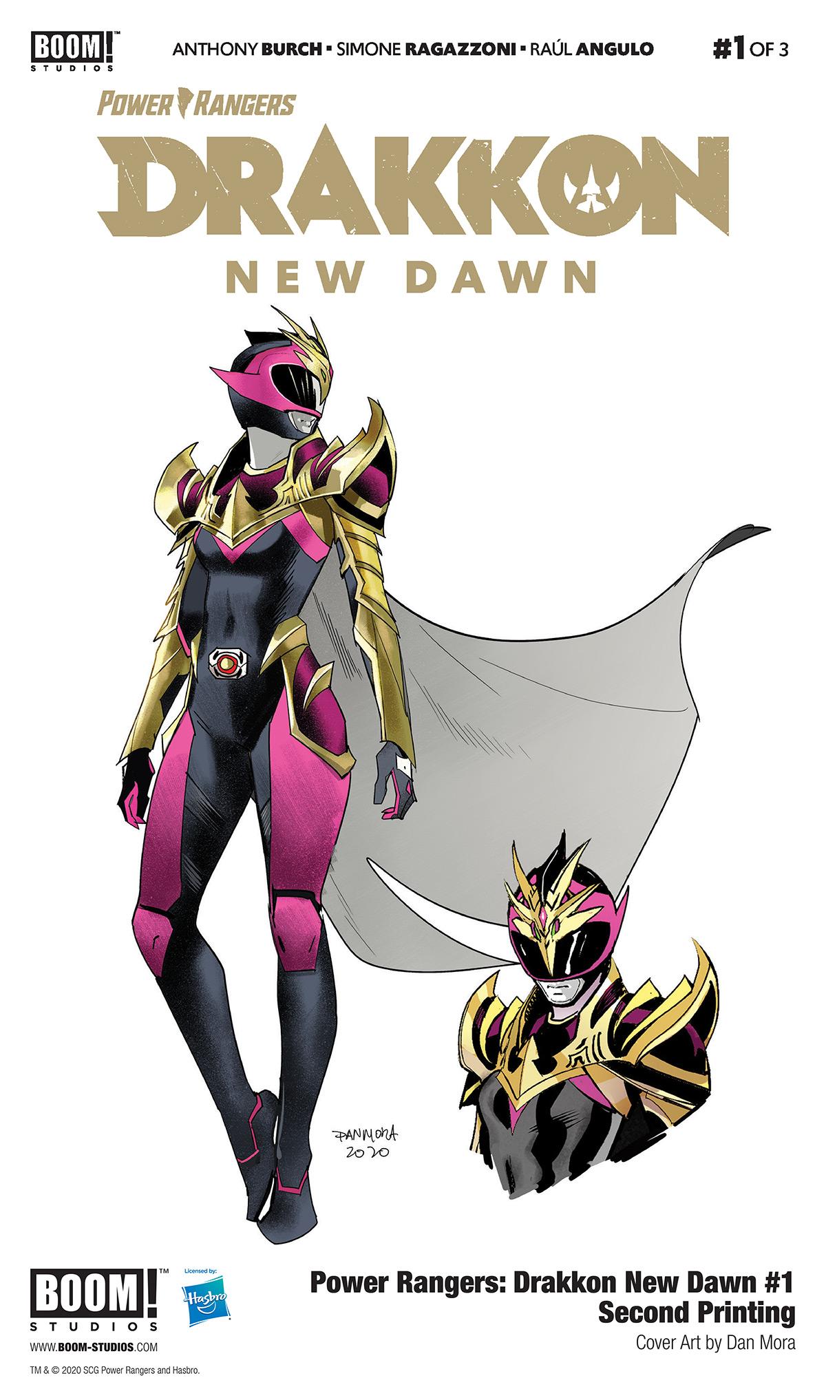 Power Rangers: Drakkon New Dawn #1 to Return with New Printing - Previews  World