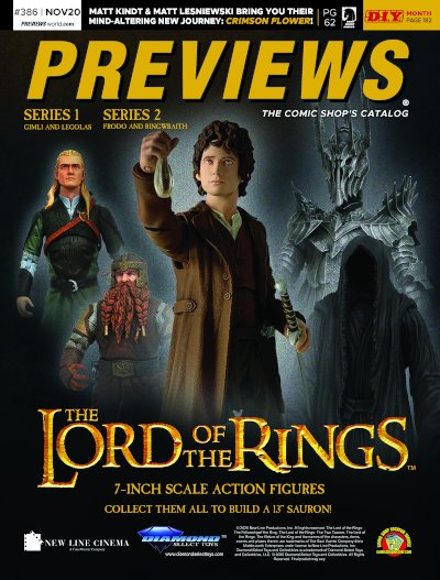 Diamond Select Toys -- Lord of the Rings Series 2 Select Action Figures
