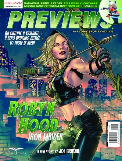 Zenecope Entertainment -- Robyn Hood: Iron Maiden #1