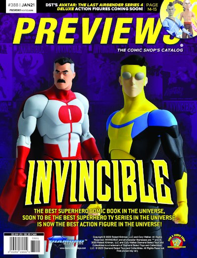 Diamond Select Toys -- Invincible Deluxe Action Figures
