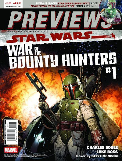 Back Cover -- Marvel Comics' Star Wars: War of the Bounty Hunters #1