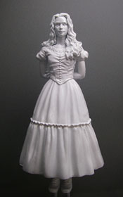 ALICE ULTIMATE DETAIL FIGURE CHESS PIECE 2010 SDCC VERSION