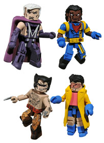 MARVEL MINIMATES 90'S BOX SET 2010 SDCC VERSION