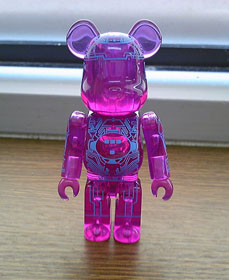 TRON BEARBRICK 2010 SDCC VERSION