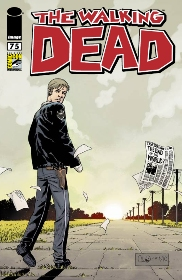 SDCC 2010 WALKING DEAD #75 RETAILER EXCLUSIVE EDITION