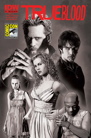 TRUE BLOOD #1 RETAILER EXCLUSIVE 2010 SDCC EDITION